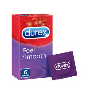 Durex Feel Smooth Condom 6pcs