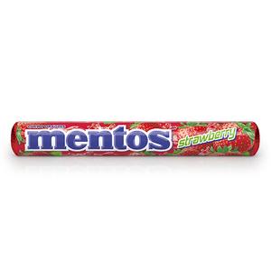 Mentos Strawberry Candies 38g
