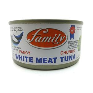 Family Fancy Chunks White Meat Tuna In Sunflower Oil 185g