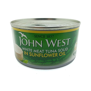 John West White Tuna Solid In Sunflower Oil 170gm