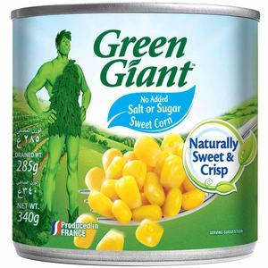 Green Giant Corn Niblets No Salt No Sugar 340g