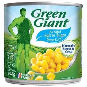 Green Giant Corn Niblets No Salt No Sugar 198g