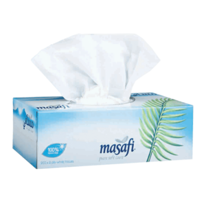Masafi White Tissue Sterilized 2Ply 200s