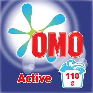 Omo Active Laundry Detergent Powder 110g