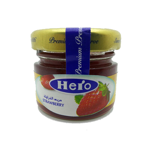 Hero Strawberry Preserves 28.3g