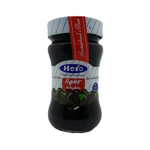 Hero Light Black Cherry Preserves 200g