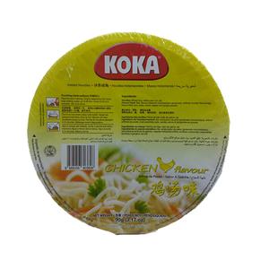 Koka Bowl Noodles Chicken 90gm