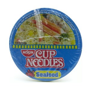 Nissin Cup Noodles Seafood With Vegetables 60gm