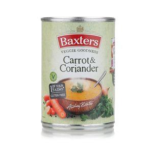 Baxters Vegetarian Carrots & Coriander Soup 400g