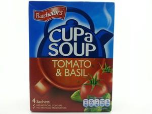 Batchelors Cup A Soup Tomato & Basil 4x26g