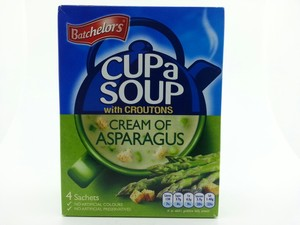Batchelors Cup A Soup With Croutons Cream Of Asparagus 4x29.25g