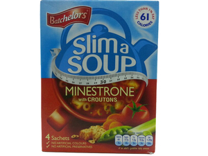 Batchelors Slim A Soup Minestrone With Croutons G 4x15.25