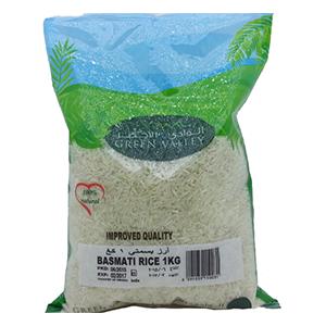 Green Valley Basmati Rice 1kg