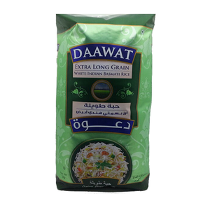 Daawat Extra Long Grain Basmati Rice 2kg