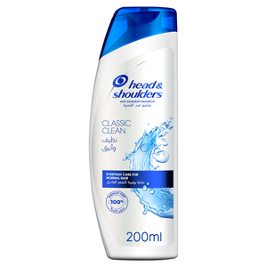 Head & Shoulders Classic Clean Anti Dandruff Shampoo 200ml