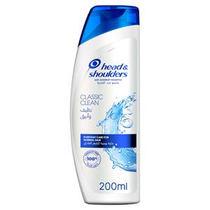 Head & Shoulders Classic Clean Anti-Dandruff Shampoo 200ml