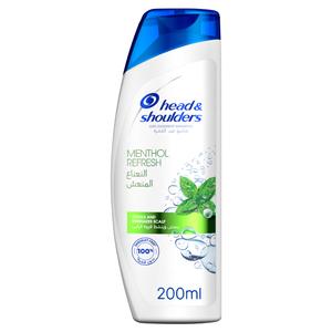 Head & Shoulders Menthol Refresh Anti-Dandruff Shampoo With Menthol 200ml