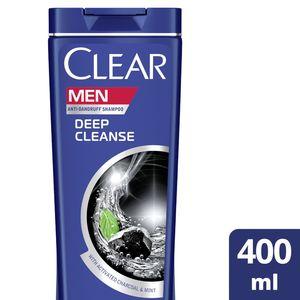 Clear Men's AntiDandruff Shampoo Deep Cleanse 400ml
