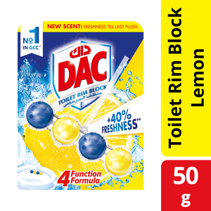 Dac Toilet Cleaner Power Active Lemon 50g