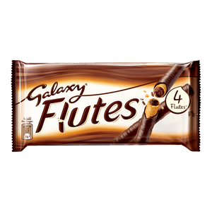Galaxy Flutes Chocolate Fingers 45g