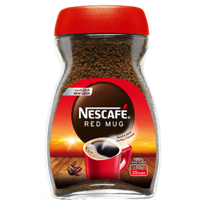 Nescafe Red Mug Instant Coffee Jar 50g