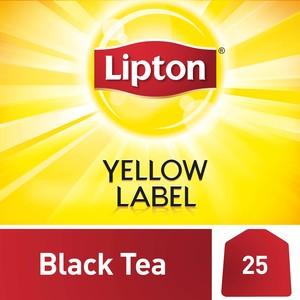 Lipton Yellow Label Black Tea 25x2g