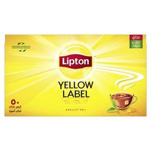 Lipton Yellow Label Black Tea 50x2g