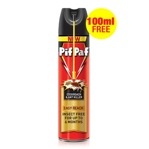 Pif Paf Crawling Insect Killer Easy Reach 400ml+100ml