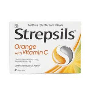 Strepsils Vitamin C Logenzes 24pcs