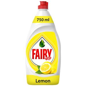Fairy Lemon Dish Washing Liquid Soap 750ml