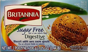 Britannia Digestive Sugar Free 200gm
