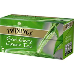 Twinings Earl Grey Green Tea Bags 25x2g