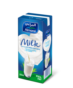 Almarai UHT Full Fat Milk With Added Vitamins 200ml