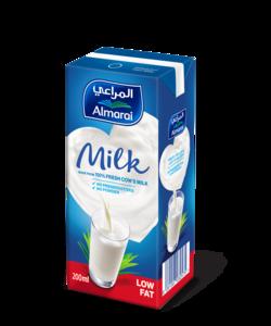 Almarai UHT Low Fat Milk With Added Vitamins 200ml