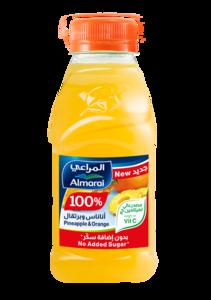Almarai Pineapple and Orange Juice 200ml
