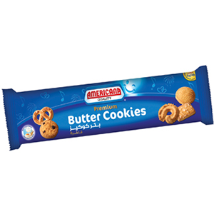 Americana Butter Cookies L Blue 100gm