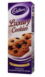 Cadbury Luxury Chocolate Chip Cookies 200g