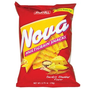 Jack&Jill Nova Cheddar Multi Grain Chips 78g