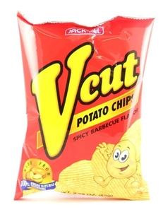 Jack&Jill V Cut Spicy Bbq Potato Chips 60g