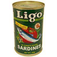 Ligo Sardines In Tomato Sauce 155gm