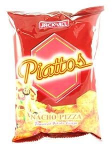 Jack&Jill Piattos Potato Nacho Pizza 85g