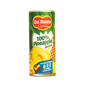 Del Monte Pineapple Juice Unsweetened 240ml