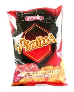Jack&Jill Piattos Potato Crisps Bbq 85g