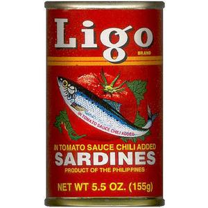 Ligo Sardines In Spicy Tomato Sauce 155gm