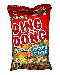 Ding Dong Super Mix Nuts Hot & Spicy 100g