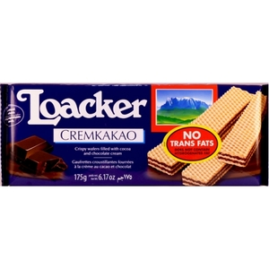 Loacker Cacao Creme Wafer 175g