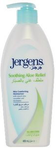Jergens Soothing Aloe Relief Lotion 400ml