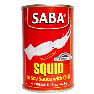 Saba Squid in Soy Chilli Sauce 425g
