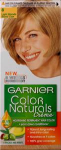 Garnier Color Naturals 8 Light  Blonde 1set
