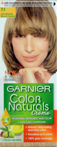 Garnier Color Naturals 7.1 Ash Blonde 1set